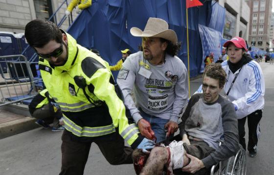Boston Bombing Photo