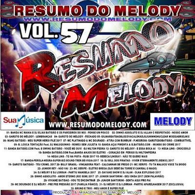 CD RESUMO DO MELODY VOL.57