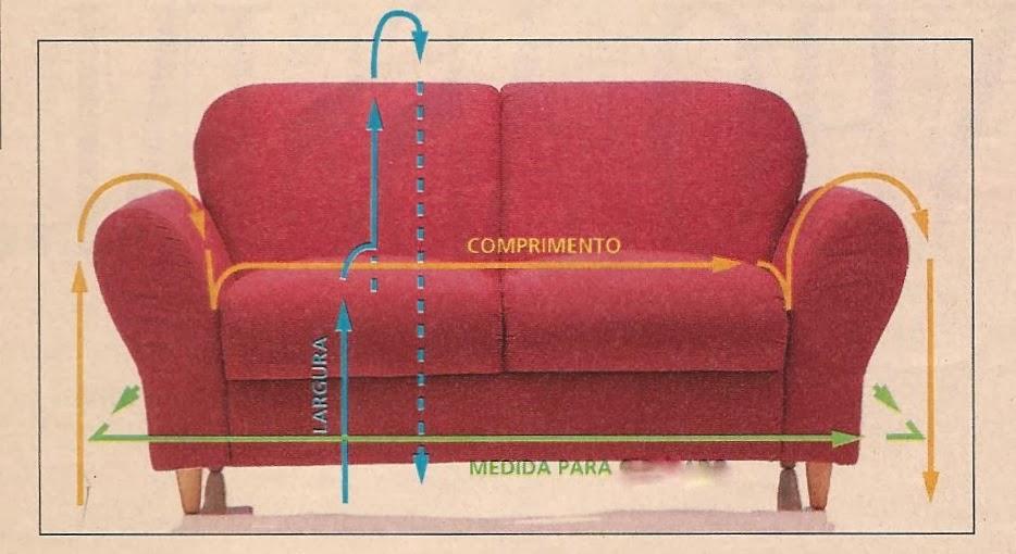 De Sofa Capa Como Fazer