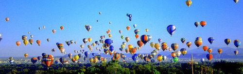 Albuquerque ballooning, hotair balloon