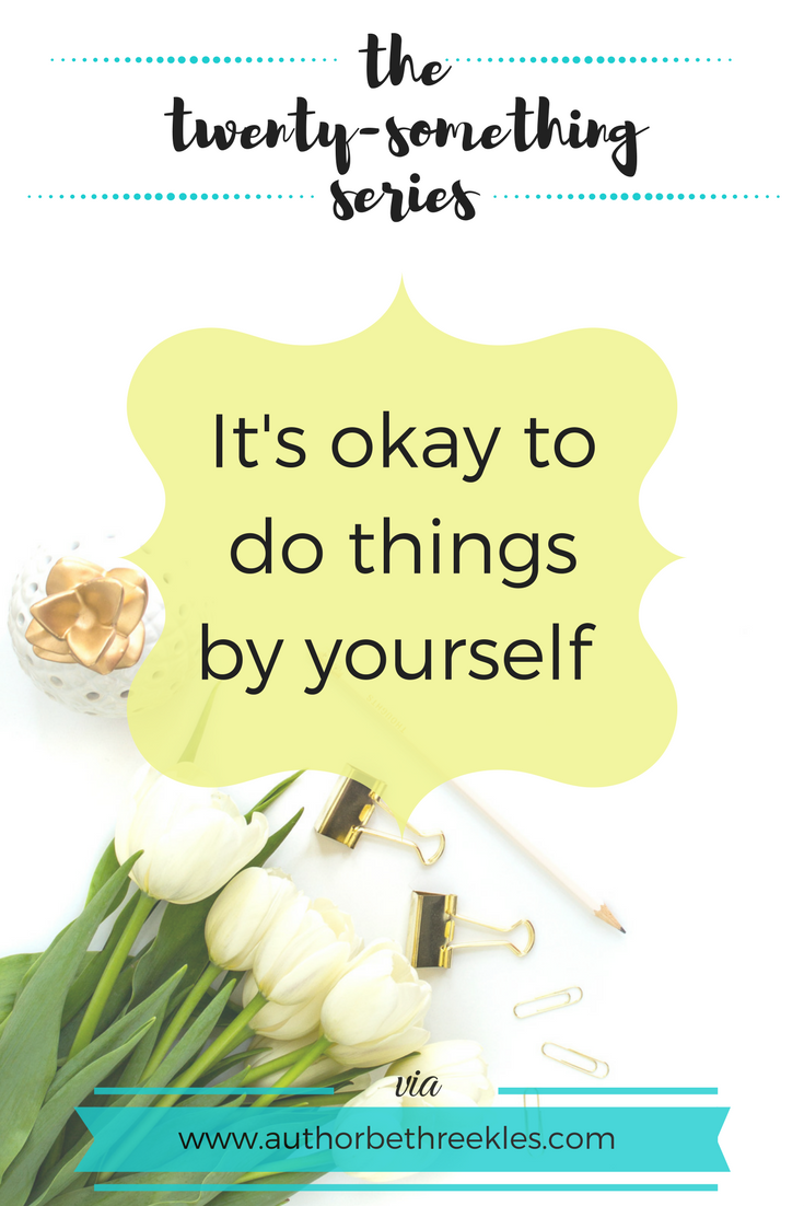 Doing things by yourself can seem scary and intimidating - but it made such a huge difference to my life. Find out why and how in this post.