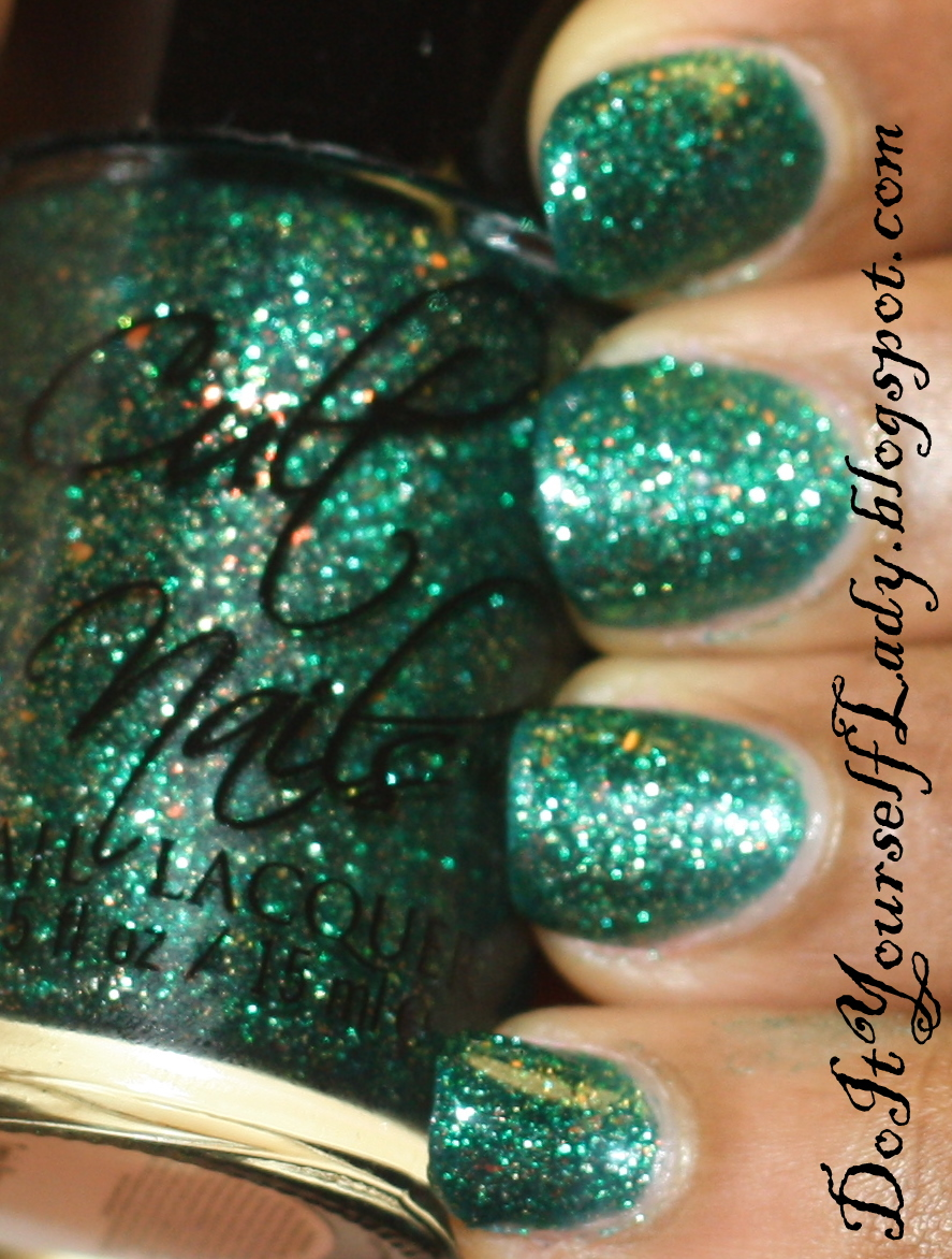 The Do It Yourself Lady Cult Nails Toxic Seaweed Swatch