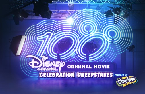 Disney Channel wants kids to enter daily for a chance to win a Flat Screen TV, Blu-Ray Player and a collection of Disney Channel Movies plus 99 runner up winners will get Shopkins prizes!
