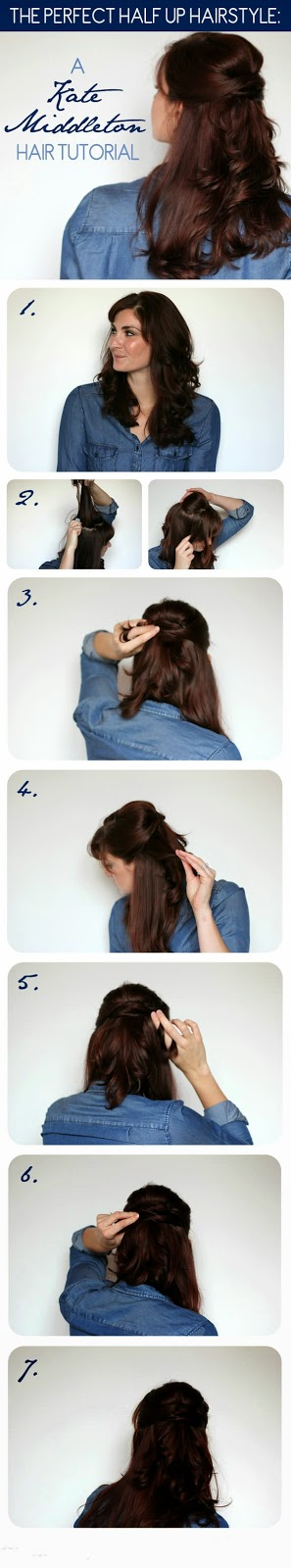 A Kate Middleton Hair Tutorial