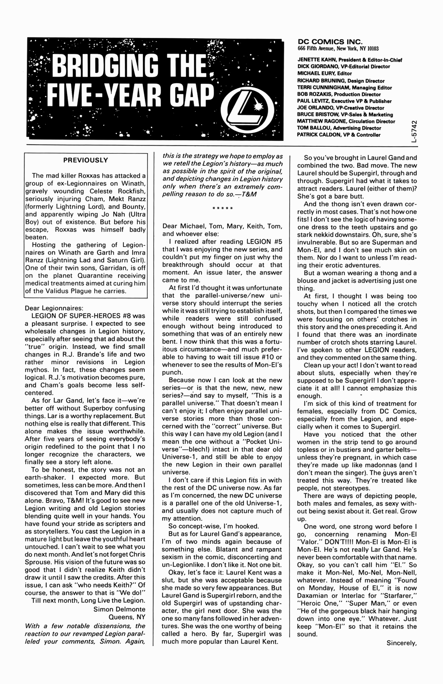 Legion of Super-Heroes (1989) 12 Page 25