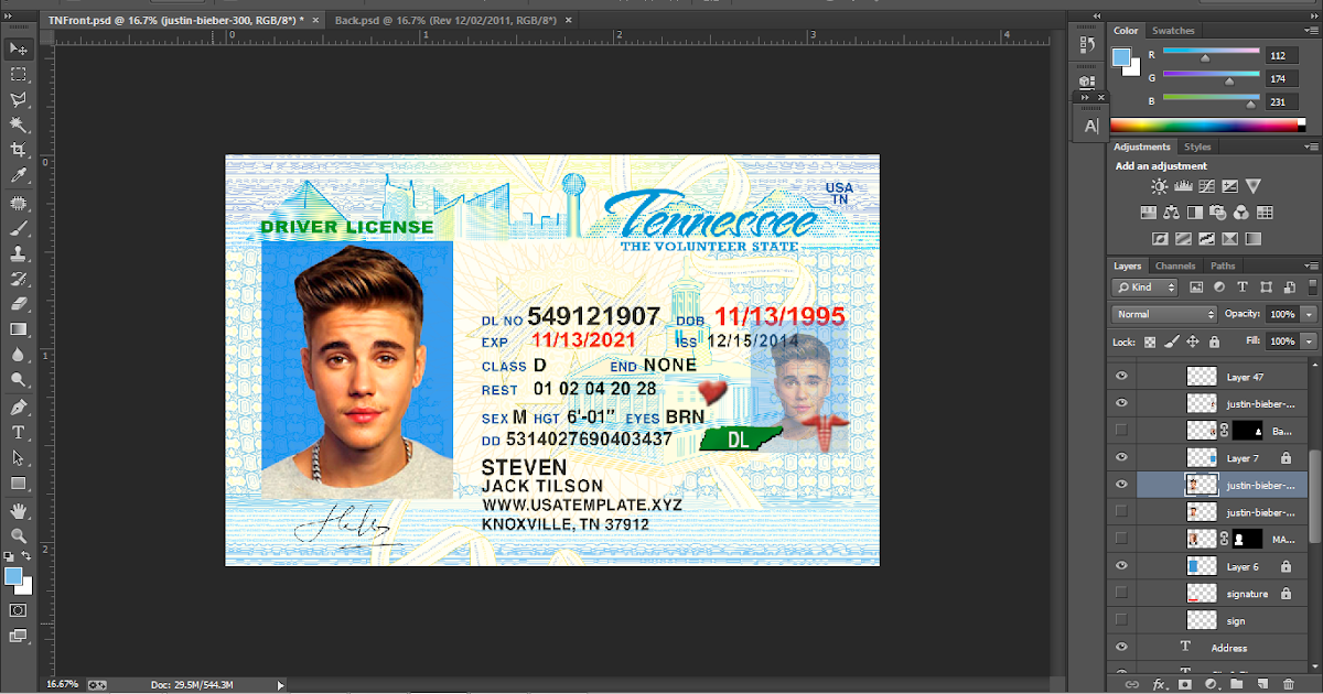 what is dd on tn drivers license