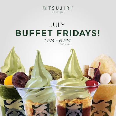 TSUJIRI Malaysia Matcha Dessert Buffet