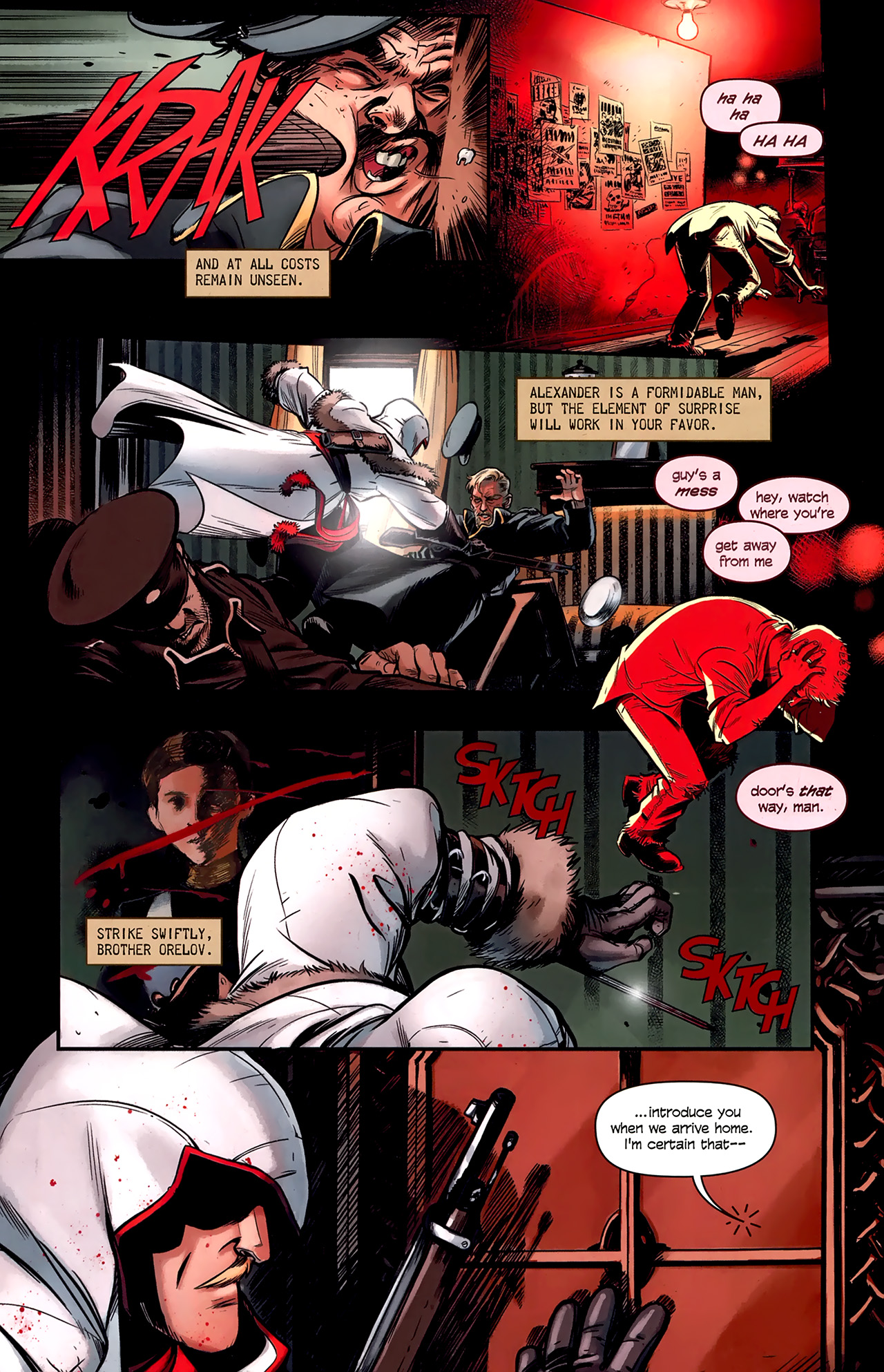 Read online Assassin's Creed: The Fall comic -  Issue #1 - 14