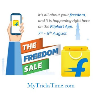 Flipkart The Freedom Sale Live
