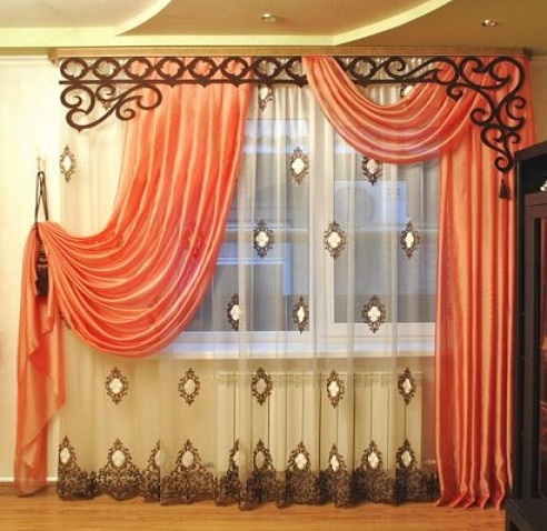 Latest bedroom curtain designs