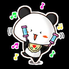 A lovely panda baby