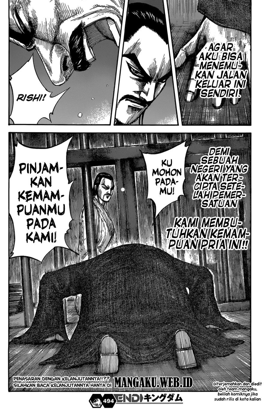 Baca Komik Manga Kingdom Chapter 494 Komik Station