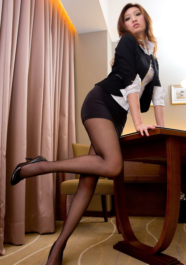 Stockings and short skirts