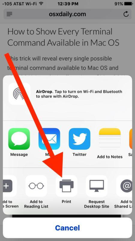 Print Ke PDF Di iPhone Paling Mudah