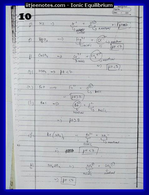 Ionic Equilibrium10