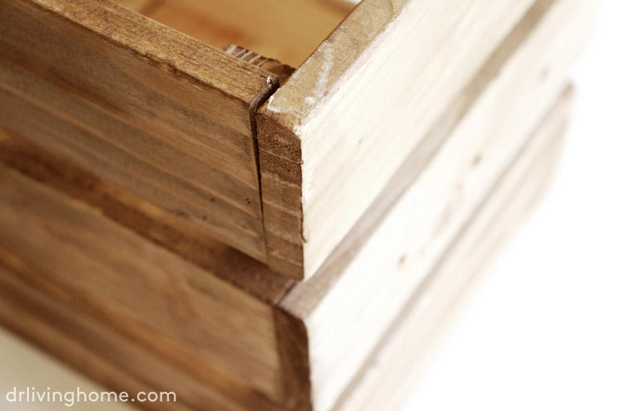 Caja de madera transformada + ¡sorteo!