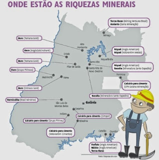 recursos minerais do estado de goiás