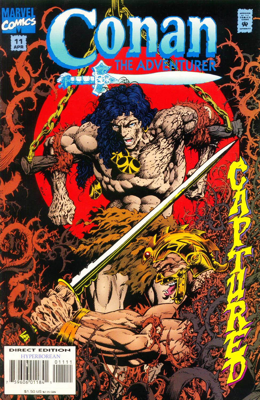 Read online Conan the Adventurer comic -  Issue #11 - 1