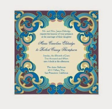 10 Contoh Desain Undangan Pernikahan Islami Dan Modern Terbaru 2015