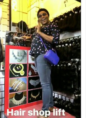 Heavy Pregnant Funke Akindele Worries About Her Excess Eating These Days