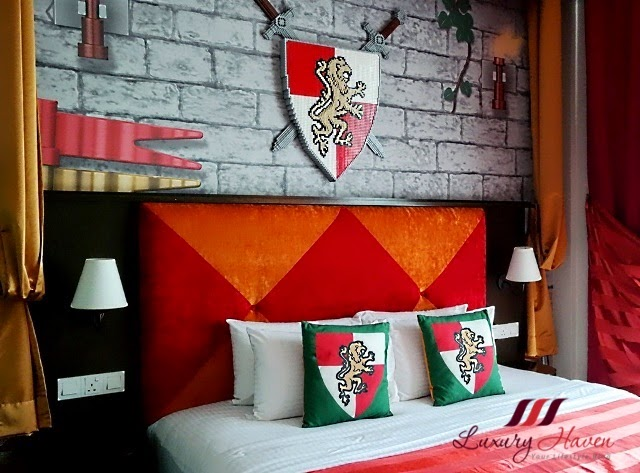 legoland hotel malaysia kingdom room king size bed