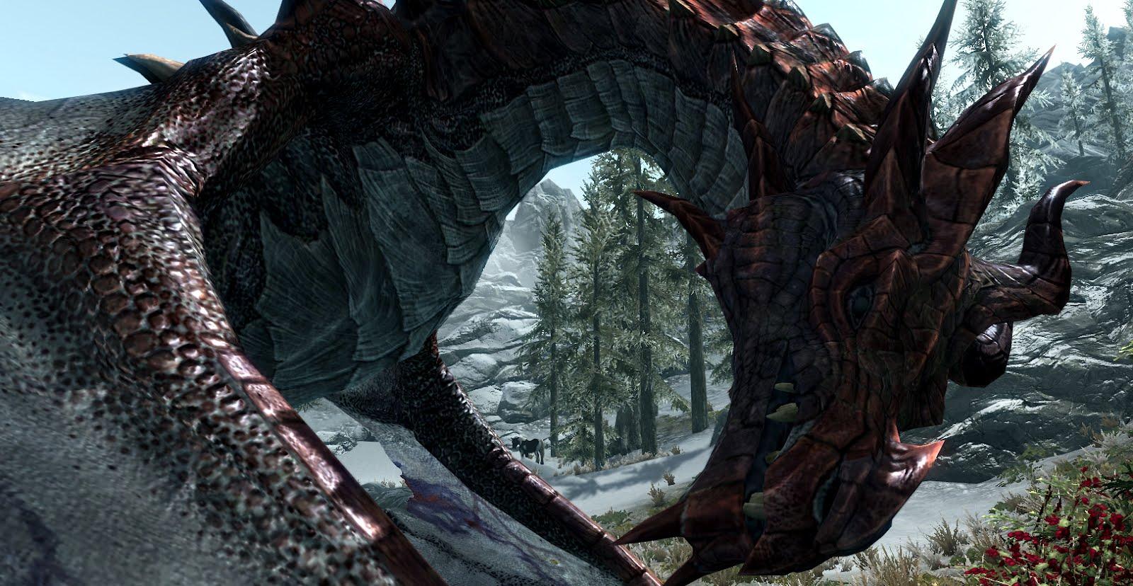 Skyrim Dragon: The Ninja Chronicles Of AK: The Skyrim Dragons Named