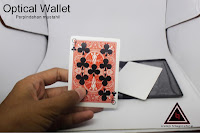 Jual alat sulap Optical Wallet