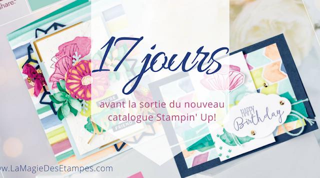 bannière décompte catalogue Stampin' Up!