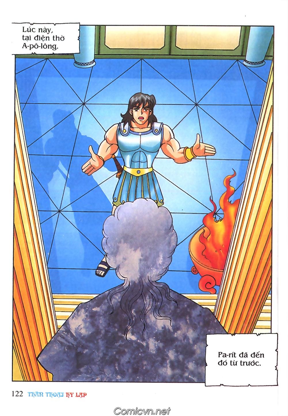 Thần Thoại Hy Lạp Màu - Chapter 65: Gót chân A sin 2 - Pic 5