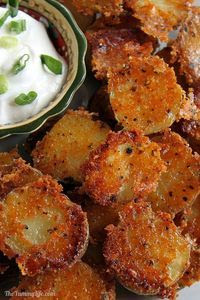 Parmesan Garlíc Roasted Baby Potatoes