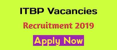 ITBP Recruitment 2019 । Govt Of India Assam Job News