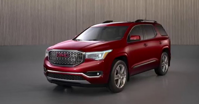 2018 GMC Acadia Review - Ford References