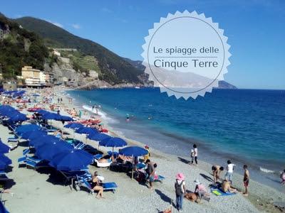 Le spiagge delle 5 Terre e della Spezia