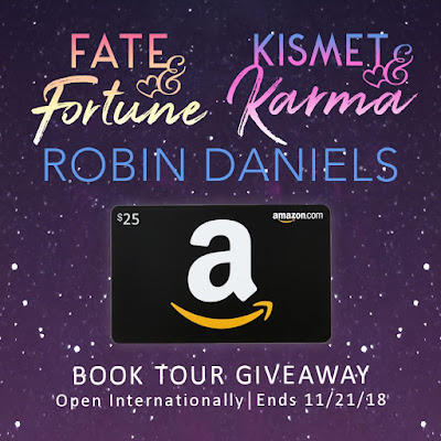 Book Tour giveaway graphic - Amazon $25 GC