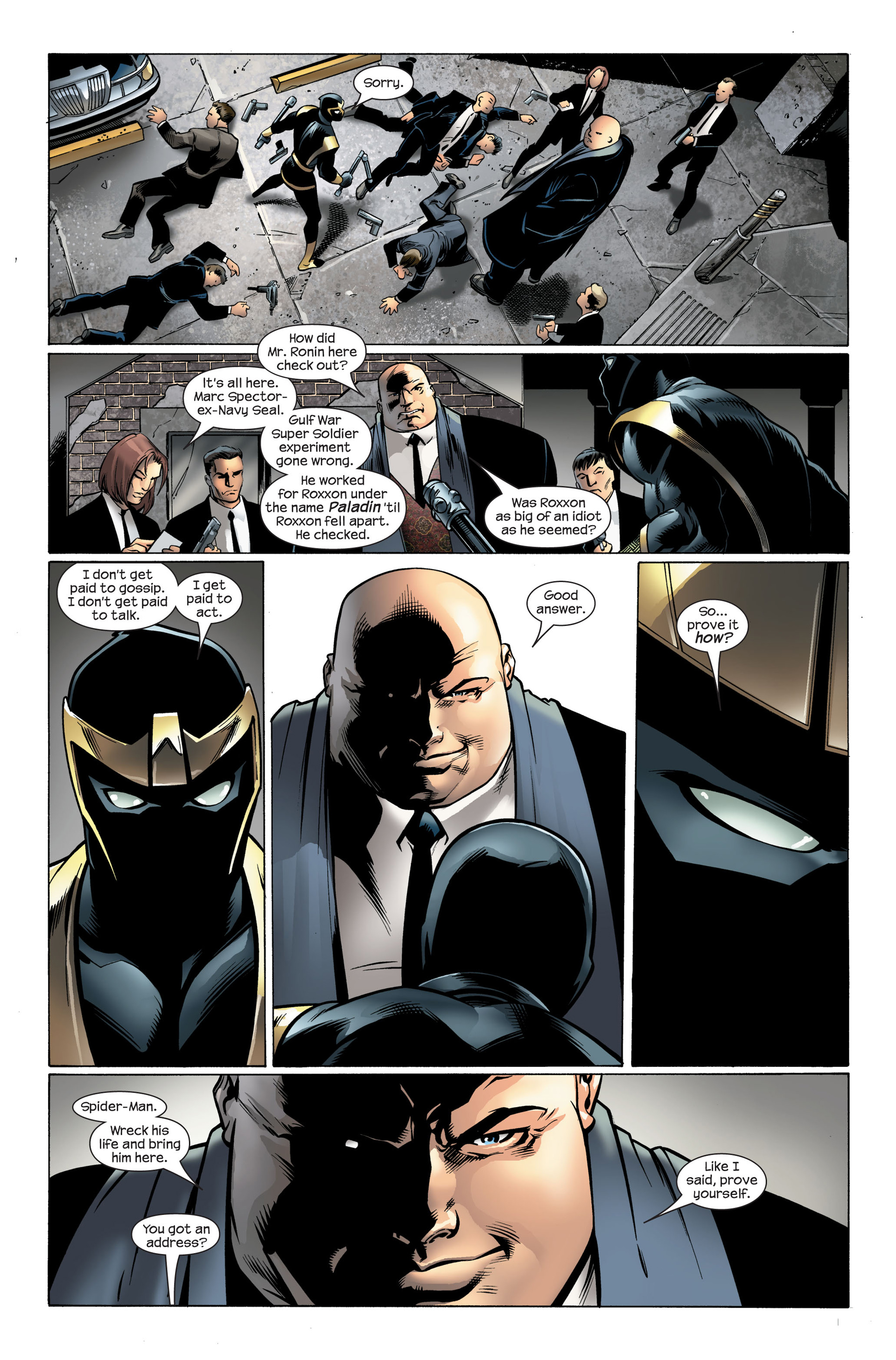 Read online Ultimate Spider-Man (2000) comic -  Issue #108 - 8