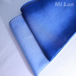Vải Jean 2 da Nữ thun mạnh W46