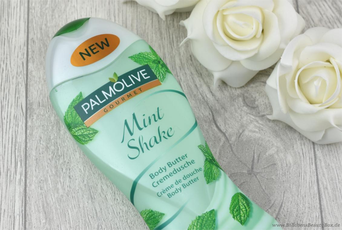 Pink Box Februar 2017 - Love & Kiss - Palmolive Gourmet Body Cremedusche Mint Shake
