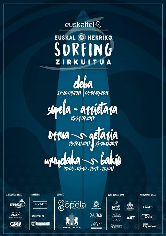 euskal herriko surfing zirkuitua 2017