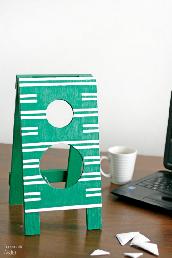 FREE Father's Day Desktop Football Toss Game Tutorial