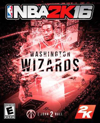 NBA 2K16 Custom Covers - Washington Wizards