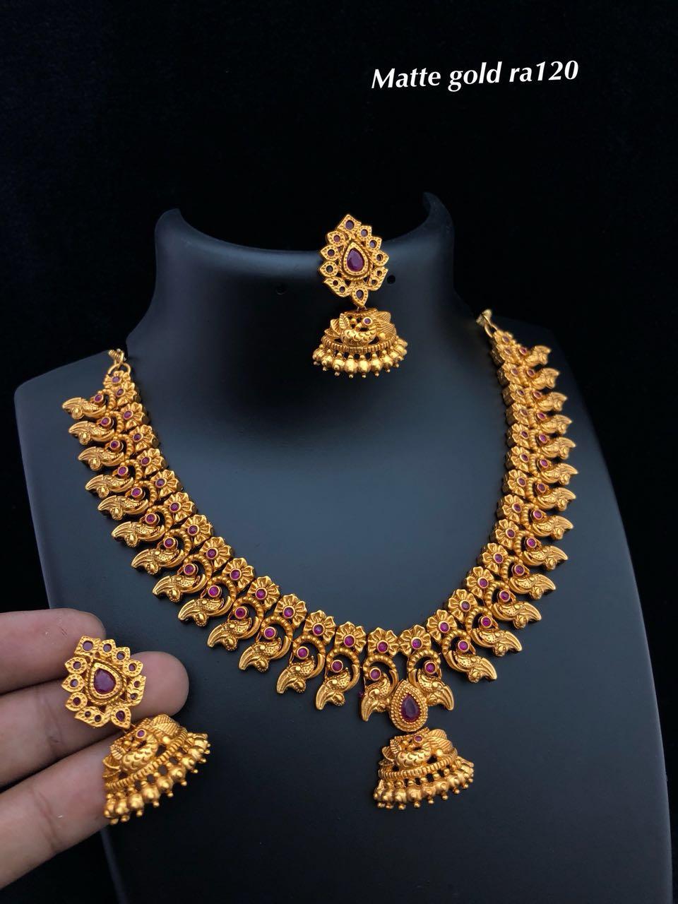Designer 1 Gram Gold Jewellery Elegantfahionwear