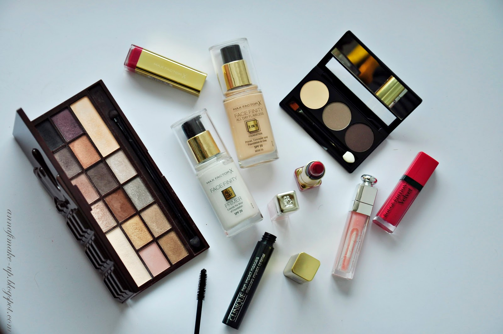 kobo, cienie do brwi, makeup revolution, czekoladowa paleta,