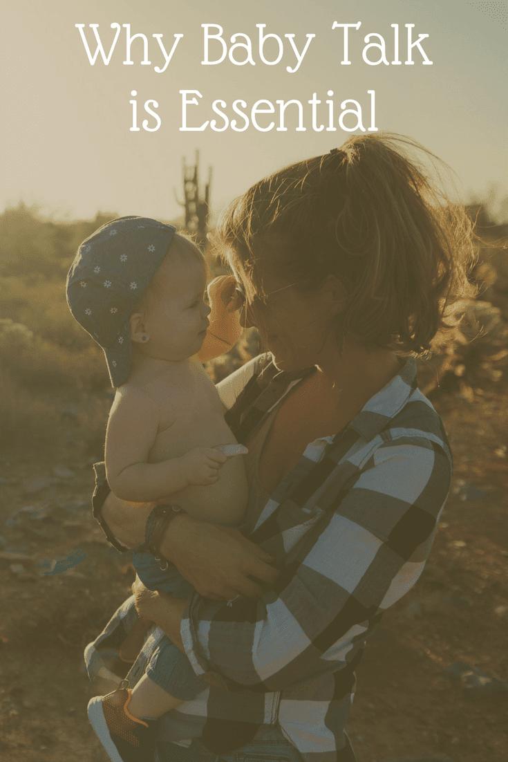 Baby Talk is essential to baby's language development