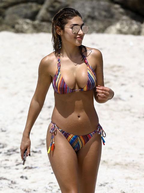 Chantel Jeffries – Bikini Candids in South Beach