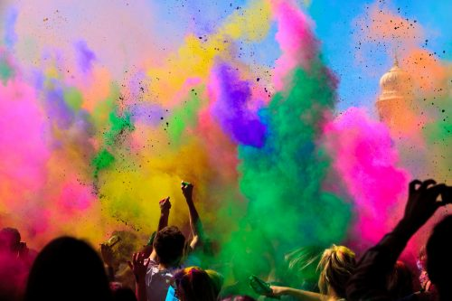 Holi Festival Wallpaper For Boyfriend