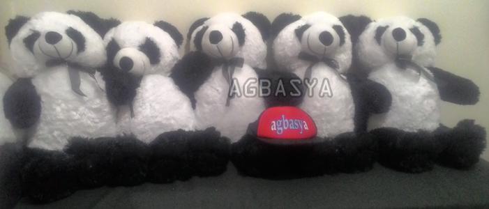 Boneka Panda Bahan Bulu Halus