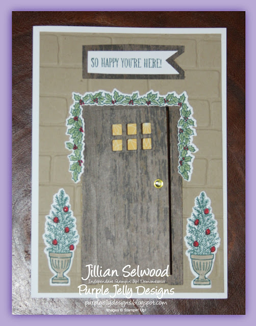 At home framelit dies, At home with you stamp set, Brick Wall embossing folder