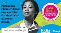 1 ano grátis de Folha Digital para professores da rede pública
