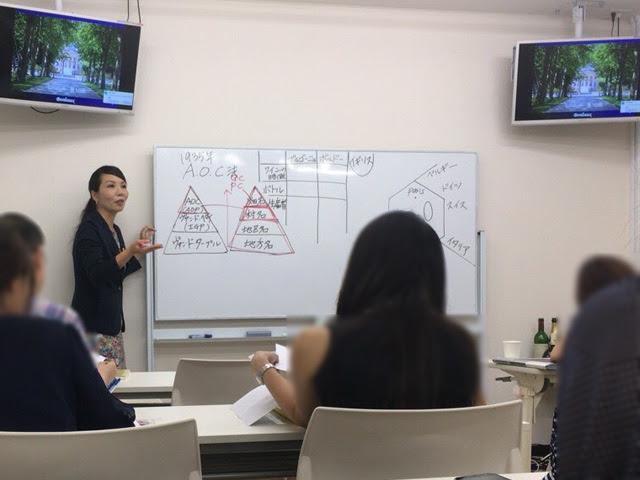 レコール・デュ・ヴァン新宿校 授業風景