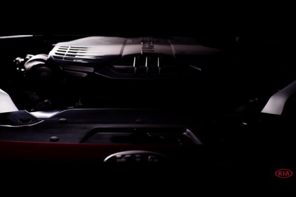Intérieur moteur Kia GT
